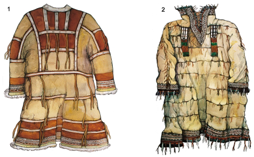 Традиционная одежда алеутов
