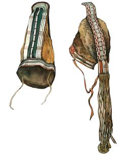 Ритуальные головные уборы алеутов
